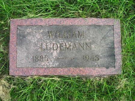 LUDEMANN, WILLIAM - Bremer County, Iowa   WILLIAM LUDEMANN