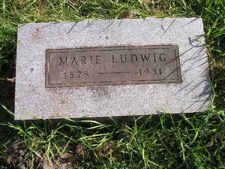 LUDWIG, MARIE - Bremer County, Iowa   MARIE LUDWIG
