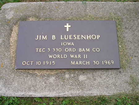 LUESENHOP, JIM B - Bremer County, Iowa | JIM B LUESENHOP
