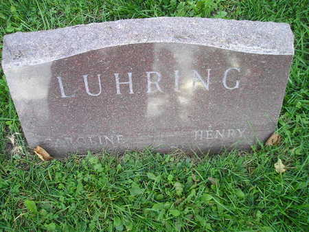 LUHRING, HENRY - Bremer County, Iowa | HENRY LUHRING
