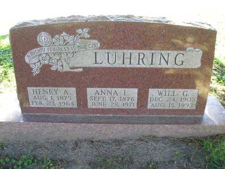 LUHRING, HENRY A - Bremer County, Iowa | HENRY A LUHRING