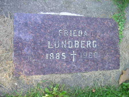 LUNDBERG, FRIEDA - Bremer County, Iowa | FRIEDA LUNDBERG