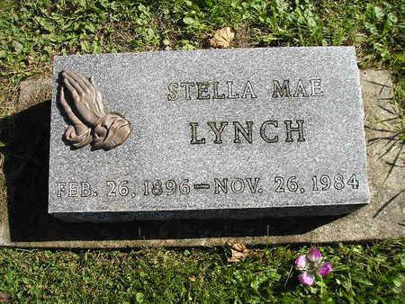 LYNCH, STELLA MAE - Bremer County, Iowa   STELLA MAE LYNCH