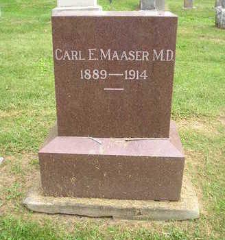 MAASER, CARL E. ( MD) - Bremer County, Iowa | CARL E. ( MD) MAASER