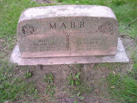 MABB, AGNIE M - Bremer County, Iowa | AGNIE M MABB