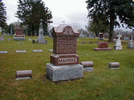 MAHNKE, FAMILY - Bremer County, Iowa | FAMILY MAHNKE