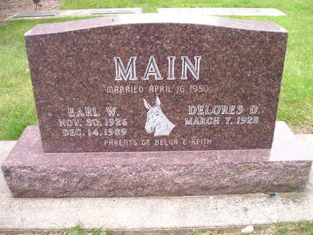 MAIN, DELORES D - Bremer County, Iowa | DELORES D MAIN