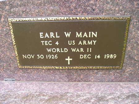 MAIN, EARL W - Bremer County, Iowa | EARL W MAIN
