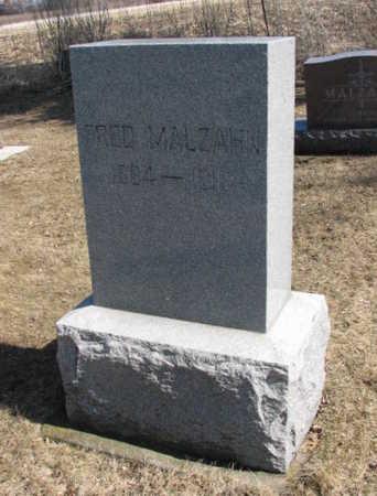 MALZAHN, FRED - Bremer County, Iowa | FRED MALZAHN