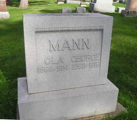 MANN, OLA - Bremer County, Iowa | OLA MANN