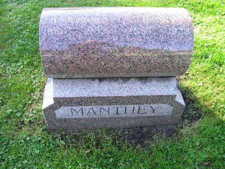 MANTHLY, FREDERICKA - Bremer County, Iowa | FREDERICKA MANTHLY