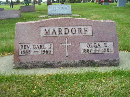 MARDORF, CARL J - Bremer County, Iowa   CARL J MARDORF