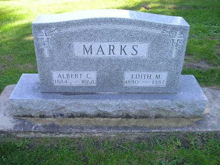 MARKS, EDITH M - Bremer County, Iowa | EDITH M MARKS
