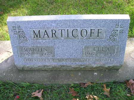 MARTICOFF, MARTIN - Bremer County, Iowa | MARTIN MARTICOFF