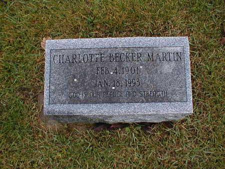 MARTIN, CHARLOTTE - Bremer County, Iowa | CHARLOTTE MARTIN