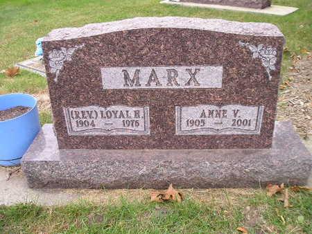MARX, ANNE V - Bremer County, Iowa | ANNE V MARX