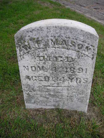 MASON, WF - Bremer County, Iowa | WF MASON
