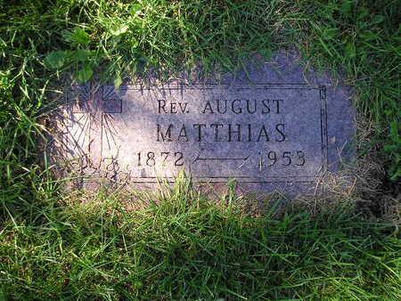 MATTHIAS, AUGUST - Bremer County, Iowa | AUGUST MATTHIAS