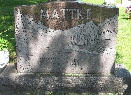 MATTKE, MELVIN G. - Bremer County, Iowa   MELVIN G. MATTKE