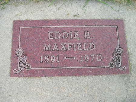 MAXFIELD, EDDIE H - Bremer County, Iowa | EDDIE H MAXFIELD