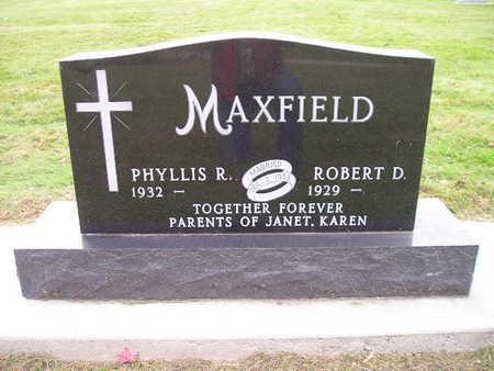 MAXFIELD, PHYLLIS R - Bremer County, Iowa | PHYLLIS R MAXFIELD