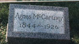 STEELE MCCARTNEY, AGNES - Bremer County, Iowa | AGNES STEELE MCCARTNEY