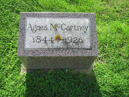 MCCARTNEY, AGNES - Bremer County, Iowa | AGNES MCCARTNEY