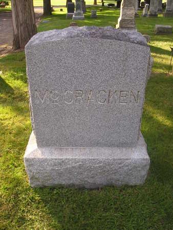 MCCRACKEN, SARAH L - Bremer County, Iowa | SARAH L MCCRACKEN