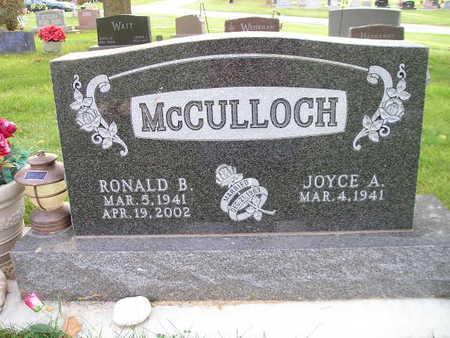 MCCULLOCH, JOYCE A - Bremer County, Iowa | JOYCE A MCCULLOCH