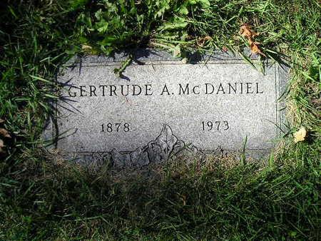 MCDANIEL, GERTRUDE A - Bremer County, Iowa | GERTRUDE A MCDANIEL