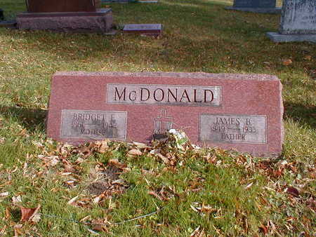 MCDONALD, JAMES B - Bremer County, Iowa | JAMES B MCDONALD