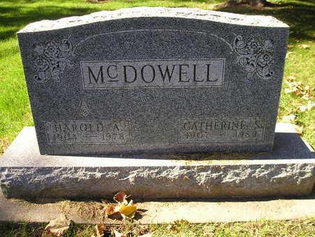 MCDOWELL, HAROLD A - Bremer County, Iowa   HAROLD A MCDOWELL
