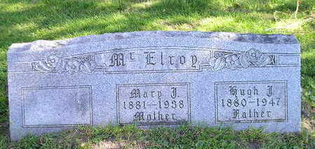 MCELROY, MARY - Bremer County, Iowa   MARY MCELROY