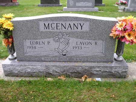 MCENANY, LAVON R - Bremer County, Iowa | LAVON R MCENANY