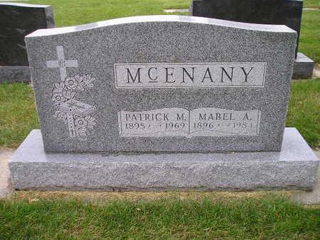 MCENANY, PATRICK M - Bremer County, Iowa   PATRICK M MCENANY