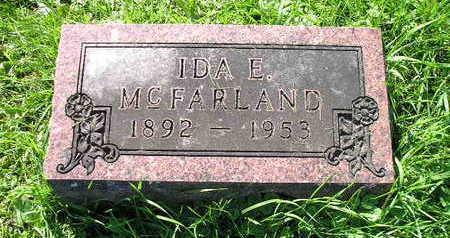 MCFARLAND, IDA E - Bremer County, Iowa | IDA E MCFARLAND