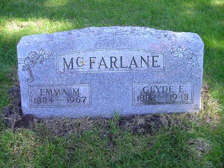MCFARLANE, CLYDE E - Bremer County, Iowa | CLYDE E MCFARLANE