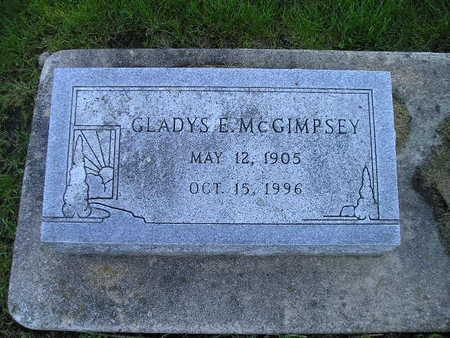 MCGIMPSEY, GLADYS E - Bremer County, Iowa   GLADYS E MCGIMPSEY