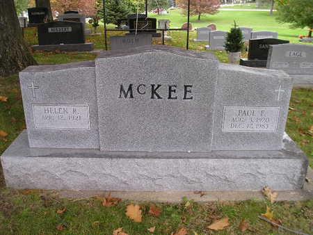 MCKEE, PAUL E - Bremer County, Iowa | PAUL E MCKEE