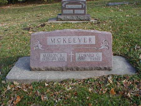 MCKEEVER, EDWARD C - Bremer County, Iowa | EDWARD C MCKEEVER