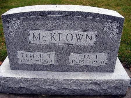 MCKEOWN, IDA L - Bremer County, Iowa | IDA L MCKEOWN