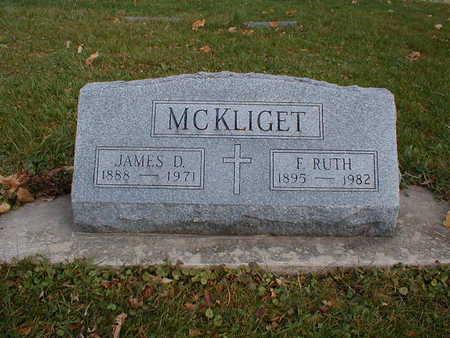 MCKLIGET, JAMES D - Bremer County, Iowa | JAMES D MCKLIGET
