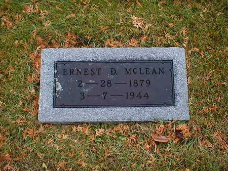 MCLEAN, ERNEST D - Bremer County, Iowa | ERNEST D MCLEAN