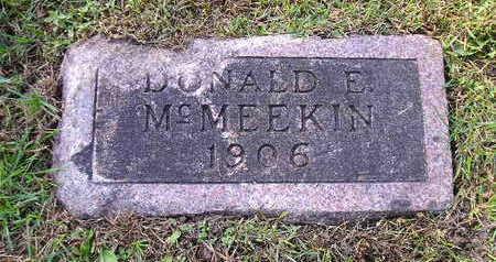 MCMEEKIN, DONALD E - Bremer County, Iowa | DONALD E MCMEEKIN