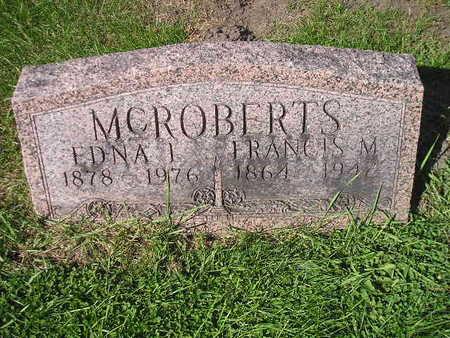 MCROBERTS, FRANCIS M - Bremer County, Iowa | FRANCIS M MCROBERTS