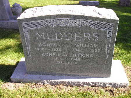 LIFFRING MEDDERS, ANNA MAY - Bremer County, Iowa | ANNA MAY LIFFRING MEDDERS