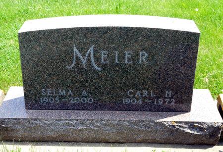 MEIER, SELMA M - Bremer County, Iowa   SELMA M MEIER