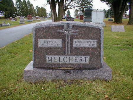 MELCHERT, E RUDOLPH - Bremer County, Iowa | E RUDOLPH MELCHERT