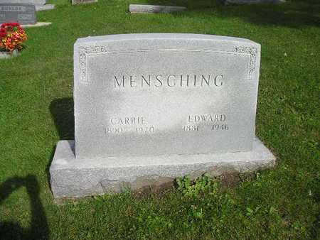 MENSCHING, CARRIE - Bremer County, Iowa | CARRIE MENSCHING