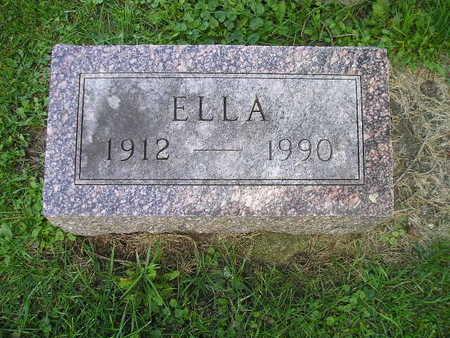 MENSCHING, ELLA - Bremer County, Iowa | ELLA MENSCHING
